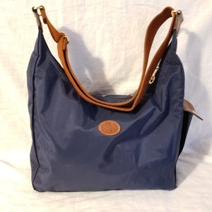 Longchamp large messenger bag